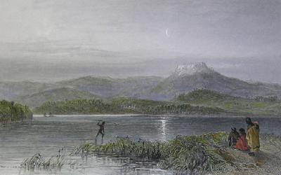Tom Thumb's lagoon, New South Wales: from Australia Illustrated