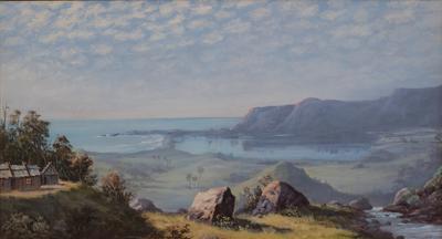 View of Lake Illawarra and Tom Thumb Lagoon