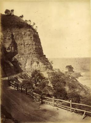 (South Coast Road at Coal Cliff)