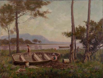 Lake Scene Dapto